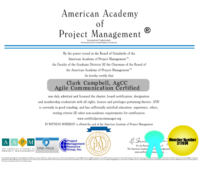 AApM ® Certified Project Manager Training Education Courses Seminars